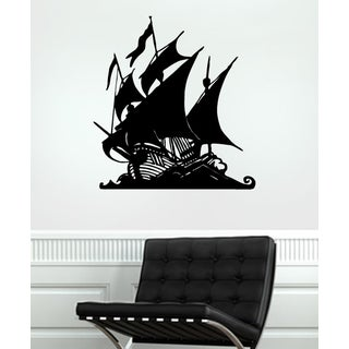 The ship set sail Wall Art Sticker Decal