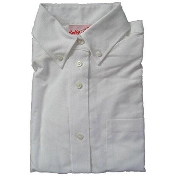 d271e84f Shop Betty Z Girl's Oxford Blouse School Uniform Shirt - Free ...