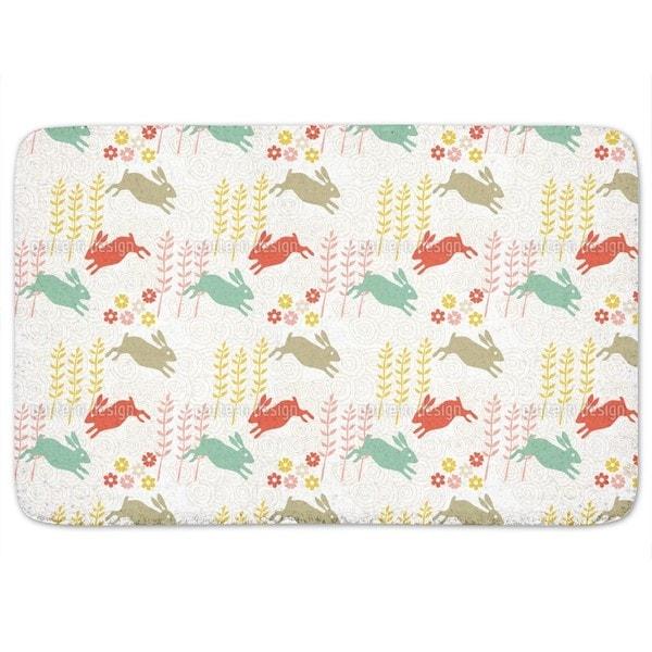 Funny Bunny Hip Hop Bath Mat