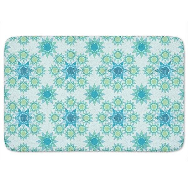 Frozen galaxy Bath Mat
