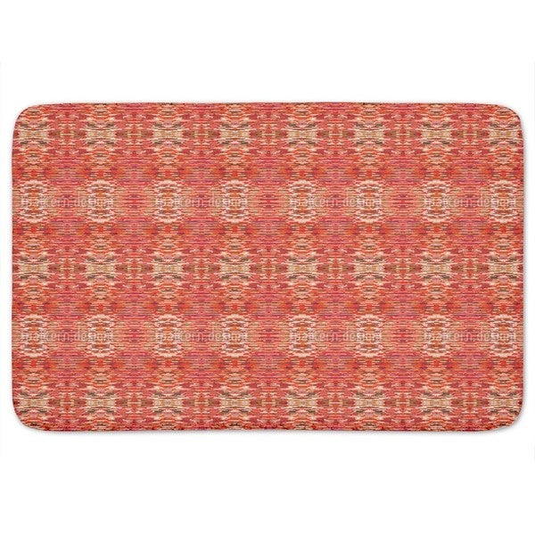 Fibrillation In The Red Saloon Bath Mat