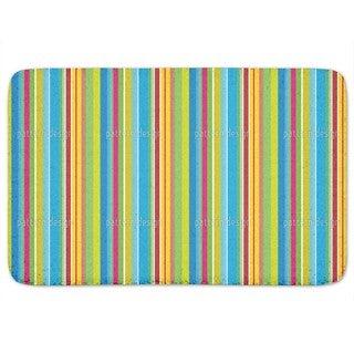 Fresh Stripes Bath Mat