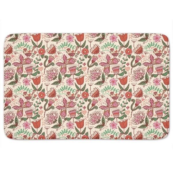 Folklore In The Love Garden Bath Mat