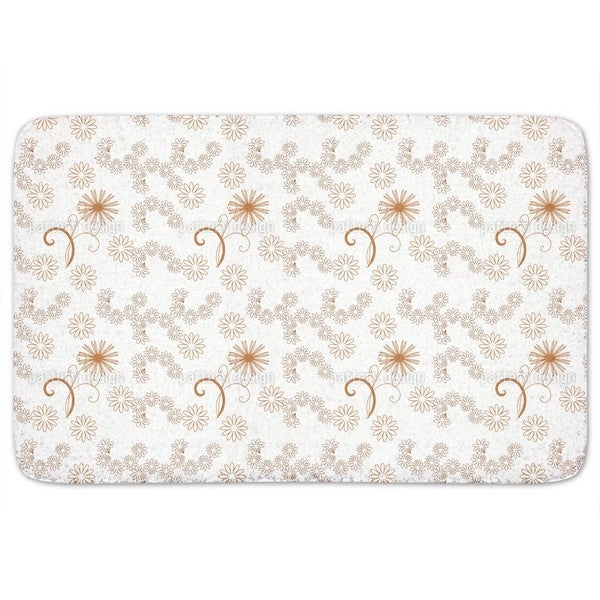 Flowers With Style Bath Mat
