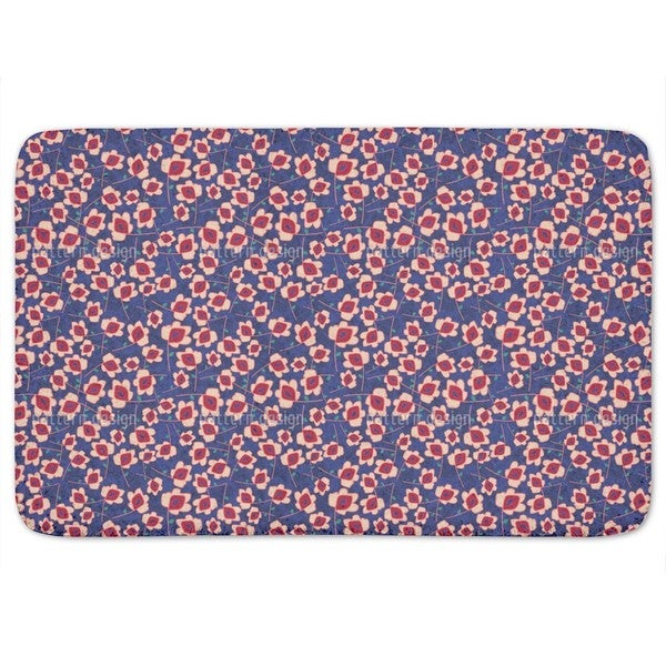 Flowers For The Ladies Bath Mat