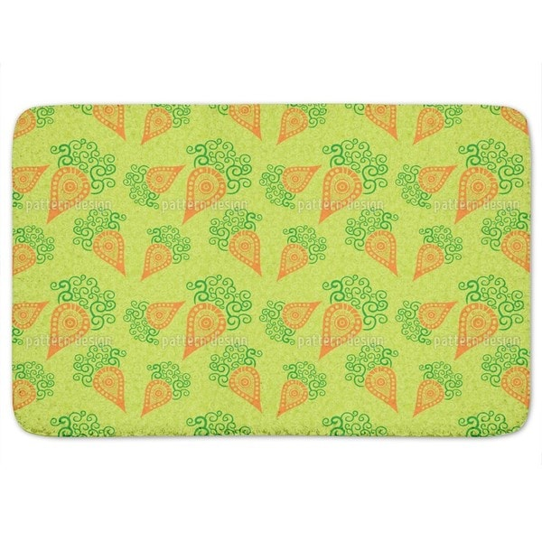 Filigree Baby Carrots Bath Mat