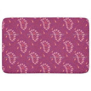 Exotic Tendrillars Purple Bath Mat