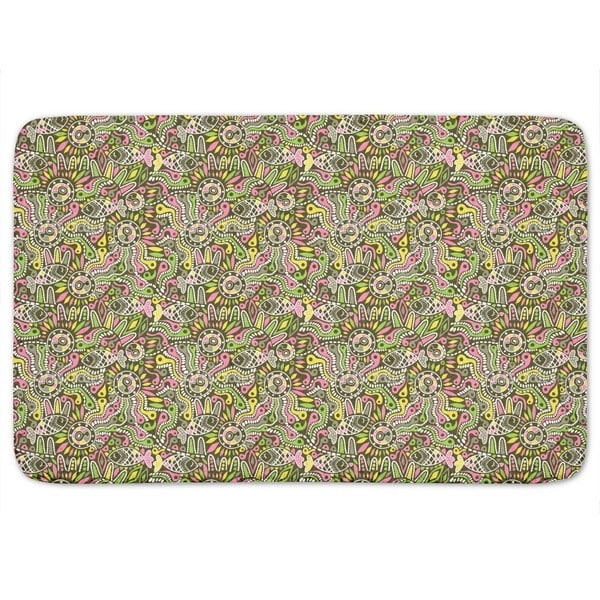 Ethno Fish Bath Mat
