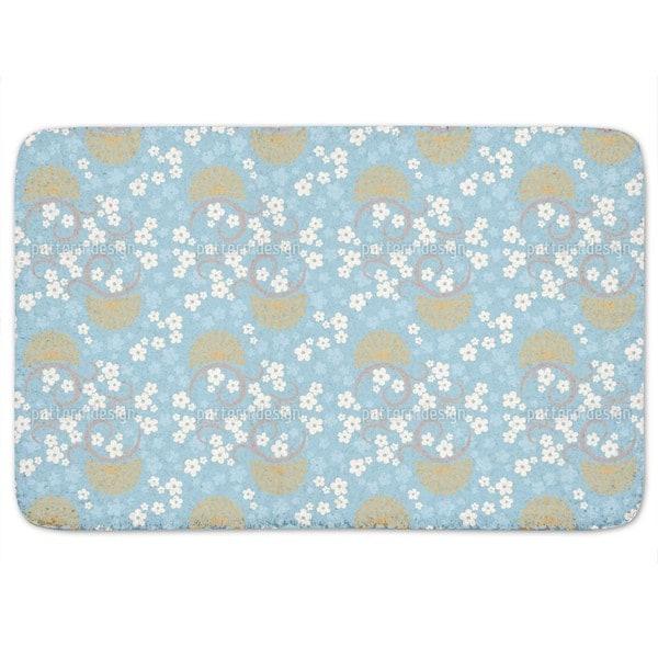 Eastern Magic Blue Bath Mat