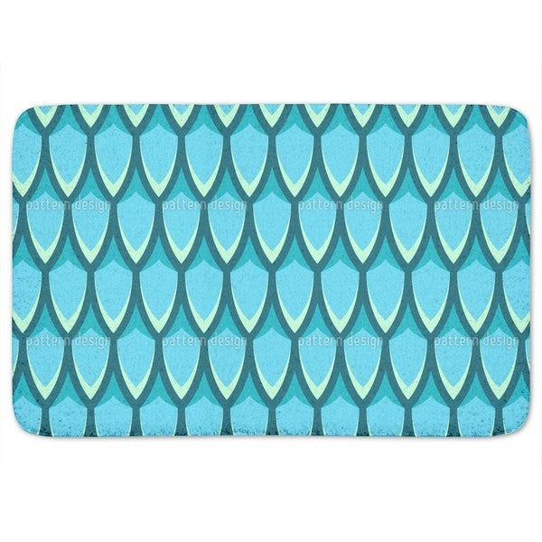 Dragon Skin Bath Mat