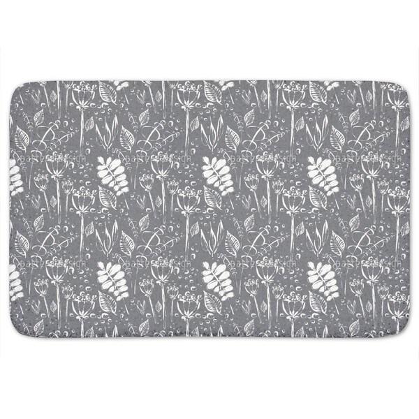 Dewy Grey Uni Bath Mat