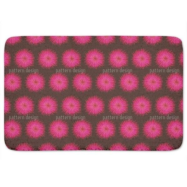 Dahlia Pink Bath Mat