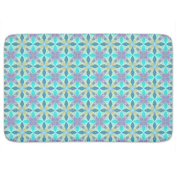 Curacao Blue Bath Mat