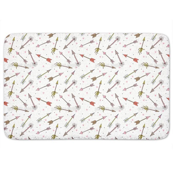 Cupids Arrows Bath Mat