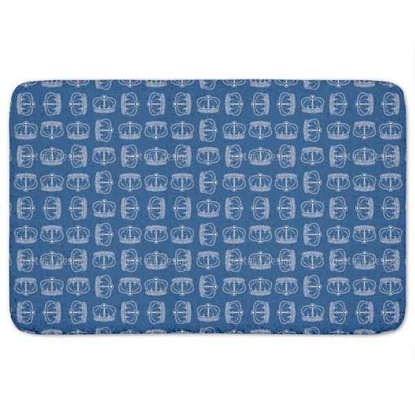Corona Blue Bath Mat