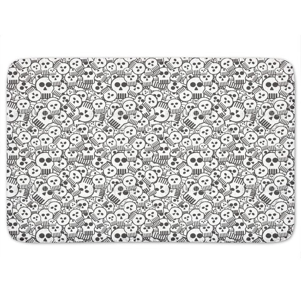 Come Sweet Skull Bath Mat