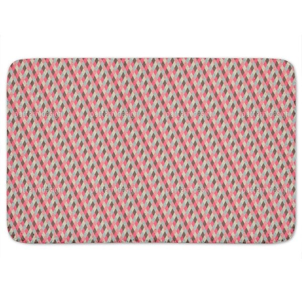 Checks Downhill Bath Mat