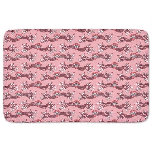 Cavallo Pink Bath Mat