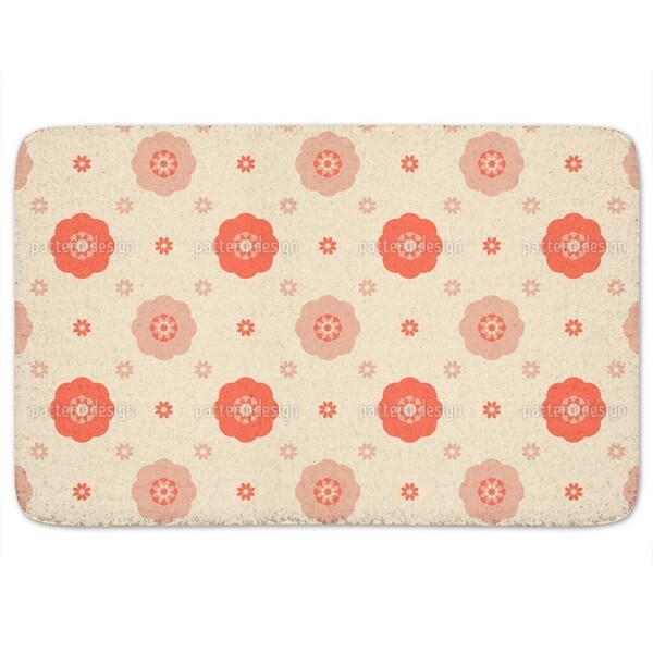 Carmen Flowers Bath Mat