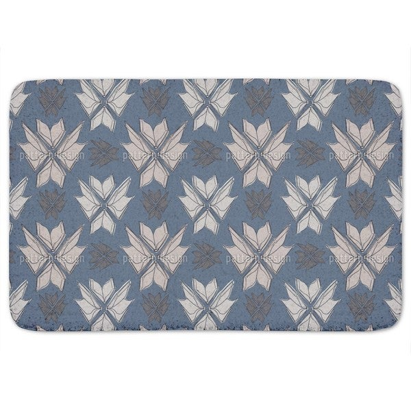 Books Bouquet Bath Mat