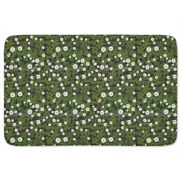 Blossoming Clover Bath Mat