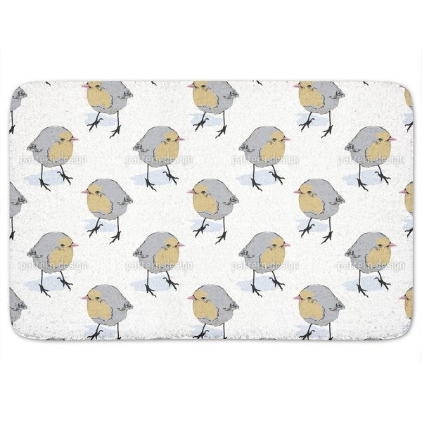Birdie Side Glance Bath Mat
