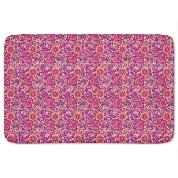 Beloved Bird Paradise Bath Mat