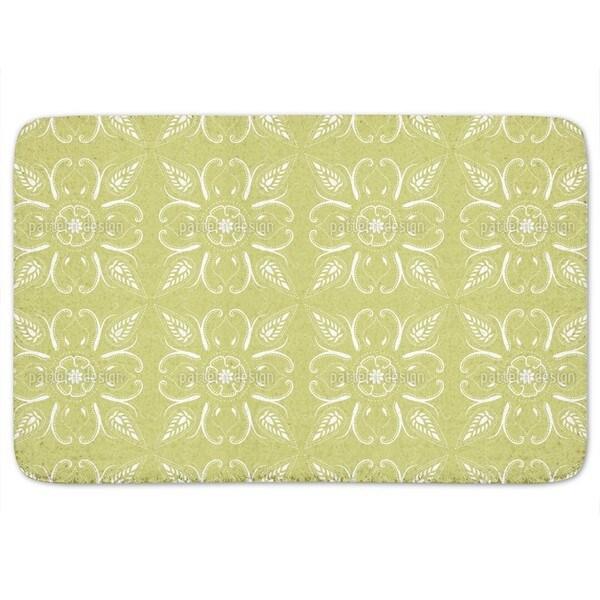 Bandana Mellow Green Bath Mat