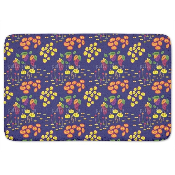Backyard Treasures Bath Mat