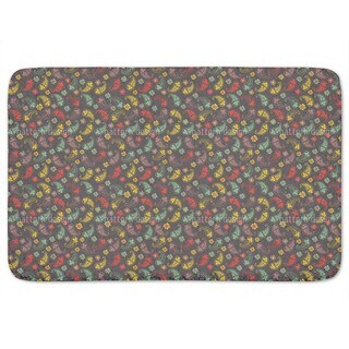 Autumn Of Paisley Mix Bath Mat