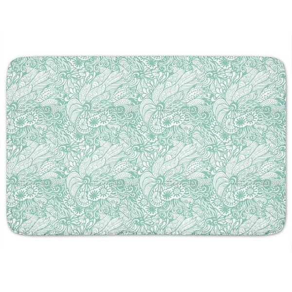 Art Nouveau Of The Ocean Bath Mat
