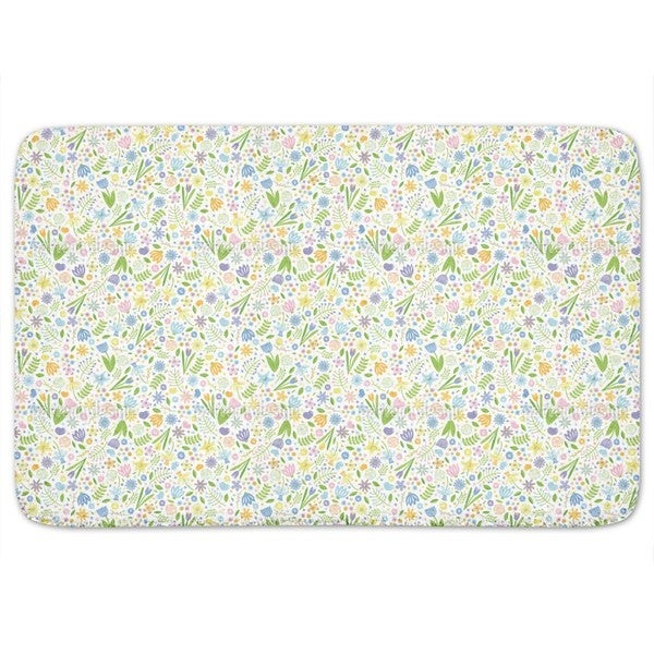 Arrangement Floral Bath Mat