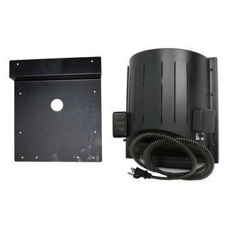 "AKOMA Dog Products Heat-N-Breeze Dog House Heater and Fan with Igloo Bracket 10"" x 10"" x 4.5"""