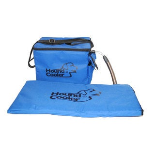 Protect your dog from summer's heat with the Hound Cooler dog cooling system.