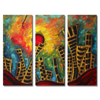 Megan Duncanson 'Glimmer of Hope' Metal Wall Art Sculpture