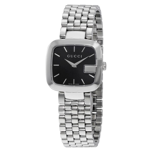 08a9b1d9dfd Shop Gucci Women s  G-Gucci  Stainless Steel Watch - Free Shipping ...