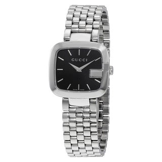 Gucci Women's YA125416 'G-Gucci' Stainless Steel Watch