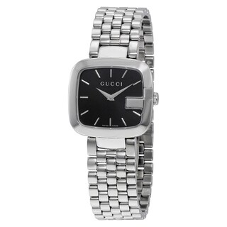 Gucci Women's YA125416 'G-Gucci' Stainless Steel Watch