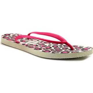Havaianas Women's 'Slim Animals' Rubber Sandals