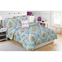 Tatiana Geo Paisley 5-piece Comforter Set with Decorative Pillow
