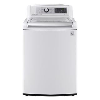 LG WT5680HWA 5-cubic Foot MEGA Capacity TurboWash Washer with Steam in White
