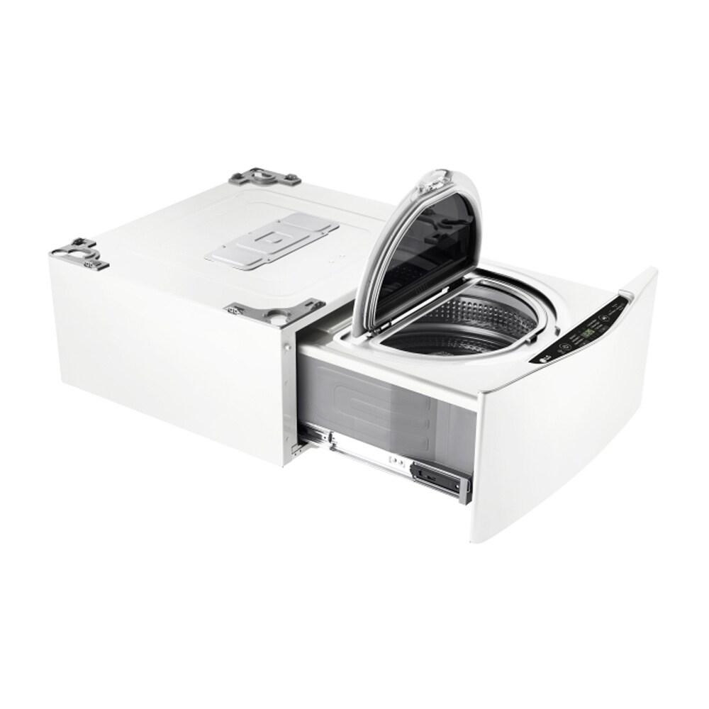 LG WD200CW 1.0-cubic Foot SideKick Pedestal Washer, LG Tw...
