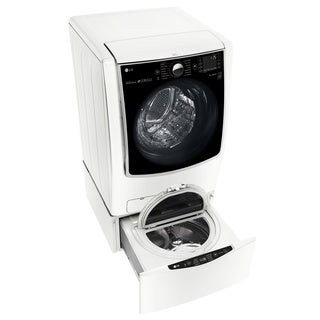 LG WM9000HWA 5.2-cubic ft Washer w/ On-Door Control Panel in White