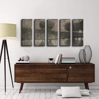 Ready2HangArt Norman Wyatt Jr. 'Granite Banks' 5-piece Wrapped Canvas Art Set