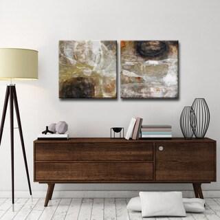 Ready2HangArt 'Oxide I/II' by Norman Wyatt Jr. 2-pc Wrapped Canvas Art Set