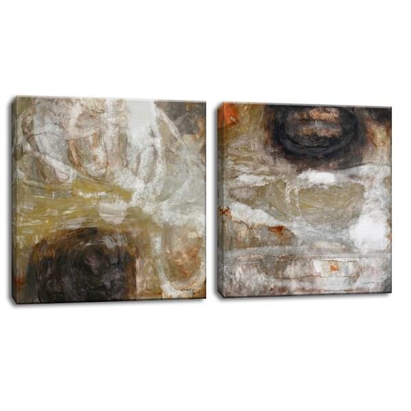 Ready2HangArt™ 'Oxide I/II' by Norman Wyatt Jr. 2-pc Wrapped Canvas Art Set