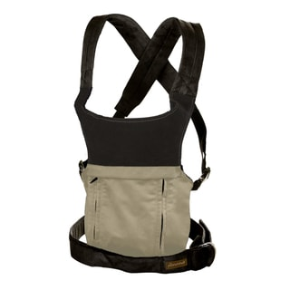 The Peanut Shell Evolve Organic Baby Carrier in Sand