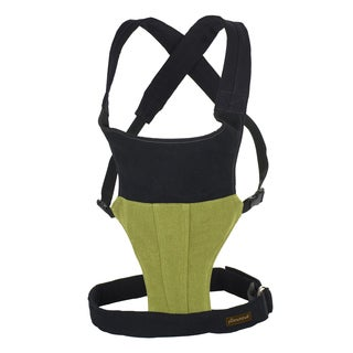 The Peanut Shell Embark Organic Baby Carrier in Moss Green