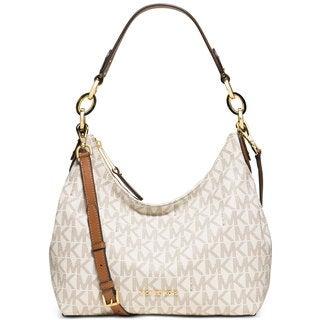 Michael Kors Isabella Medium Vanilla Convertible Shoulder Bag