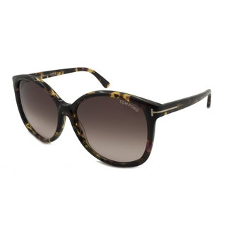 Tom Ford Women's TF0275 Alicia Square Sunglasses
